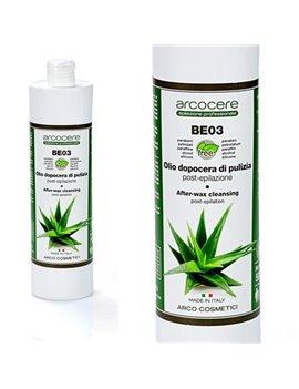 Čistiaci olej s Aloe Vera po depilácii Arcocere 500 ml ARCORCERE