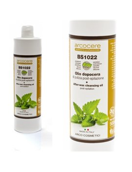 Čistiaci olej s Mätou po depilácii Arcocere 500 ml
