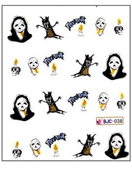 Halloween nalepky na nehty