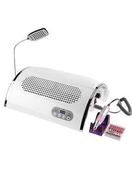 3v1 Profesionální UV LED Lampa s odsávačkou a bruskou 54W