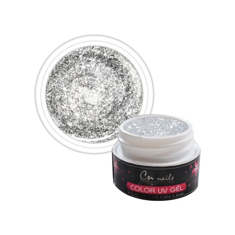 Glitter NR.412 Barebný uv gél 5ml CN nails