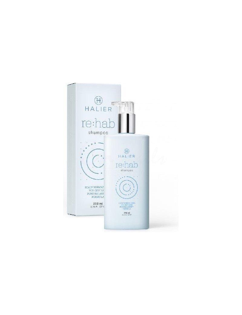 Šampon normalizační pro mastné vlasy - Halier Re:hab Shampoo 250 ml