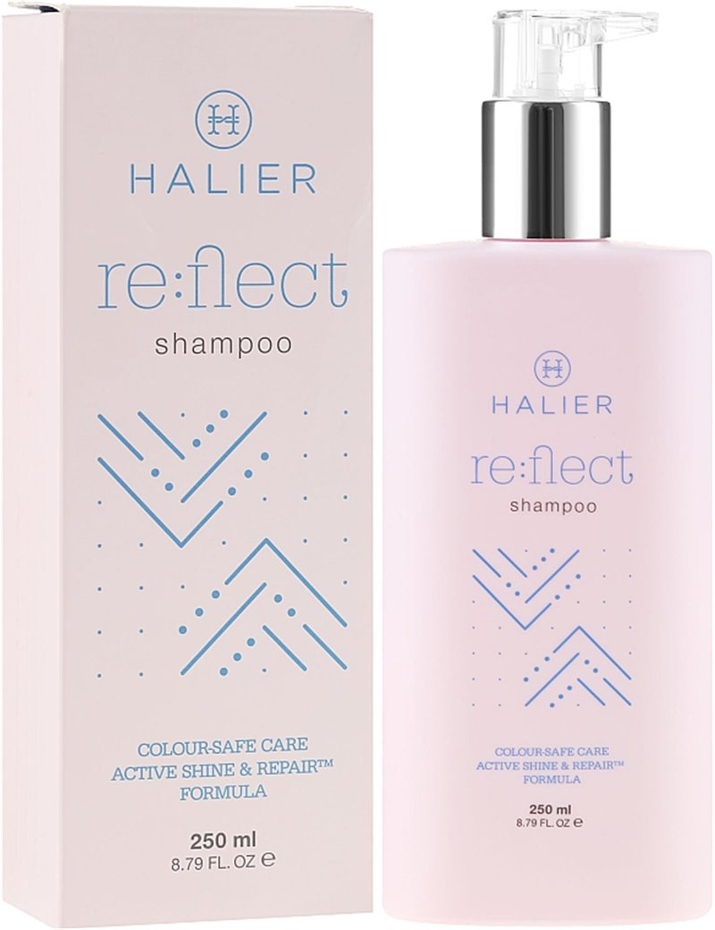 Šampon na ochranu barvy barvených vlasů - Halier Re:flect Shampoo 250 ml