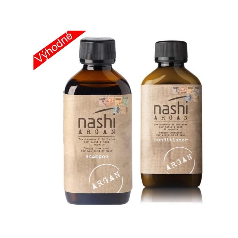 Nashi duo pack šampon 200ml + kondicionér 200ml NASHI ARGAN