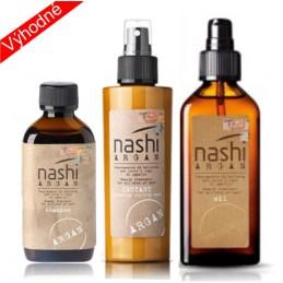 Sada Nashi šampon, instant, olej NASHI ARGAN