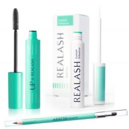 Realash Sérum pro aktivní růst řas + mascara + ceruzka