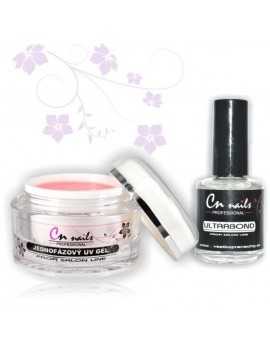 Uv gél 50ml + ultrabond 15ml zdarma CN nails