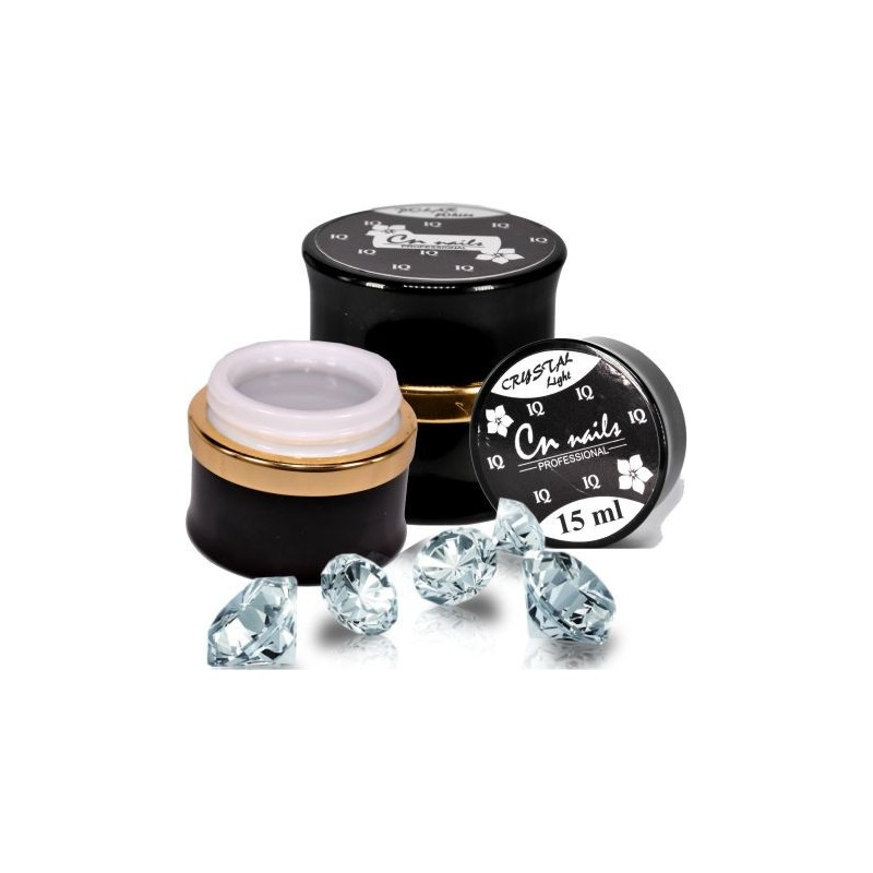IQ gél Crystal Light 15 ml CN nails