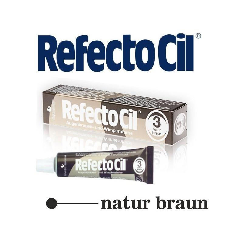 RefectoCil barva na řasy a obočí 3 Brown 15 ml Refectocil