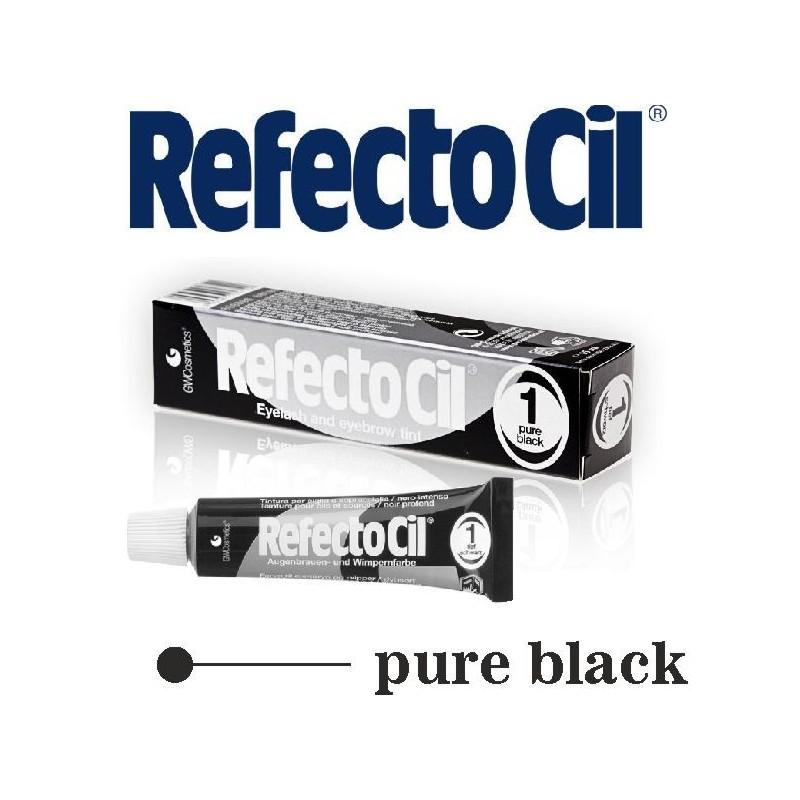 RefectoCil barva na řasy a obočí 1 Black 15 ml Refectocil