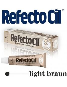 Barva na obočí a řasy Refectocil - světle hnědá 15ml Refectocil
