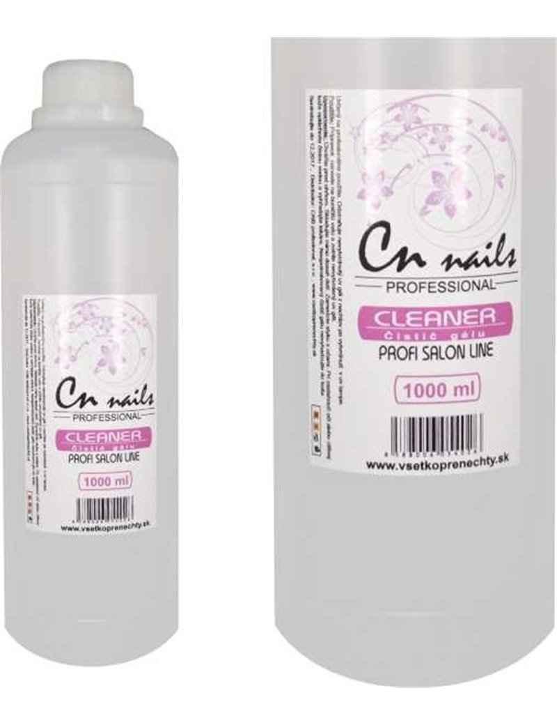 Cleaner - čistič gélu na nechty - číry 1000 ml CN nails