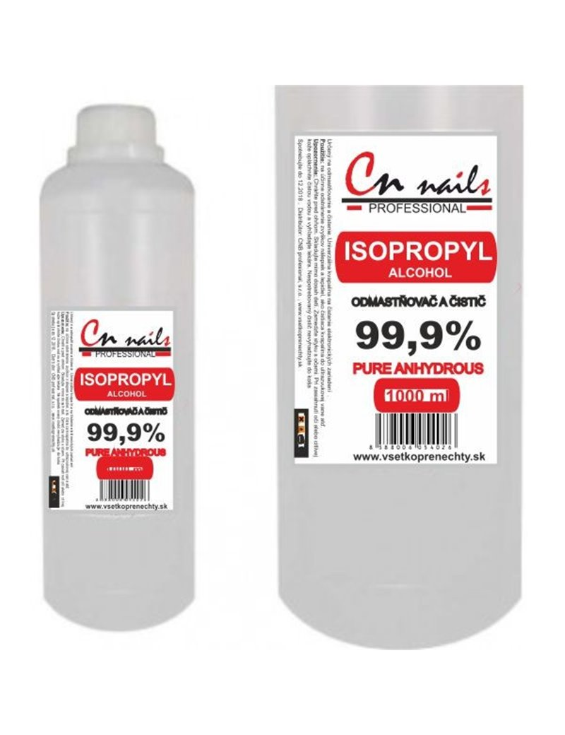 Isopropyl Alkohol 99,9% 1l CN nails