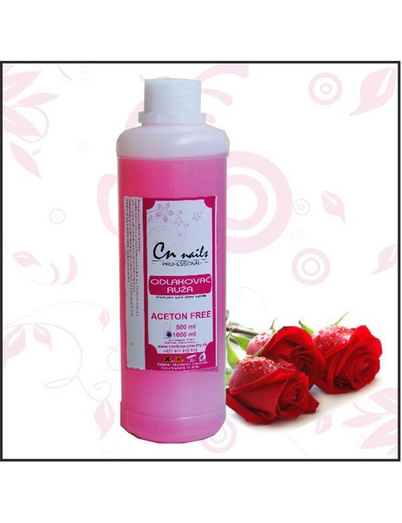 Odlakovač na nechty - Ruža 1000 ml CN nails