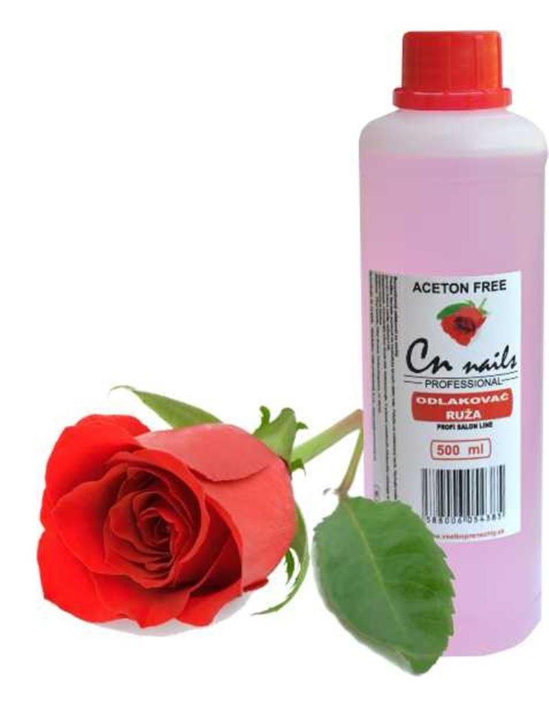 Odlakovač na nechty ruža 500ml CN nails