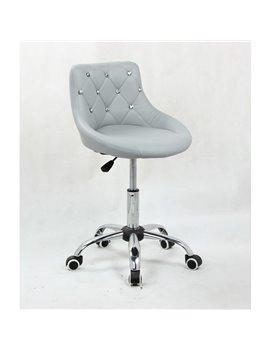 Kozmetická stolička Elegance Silver