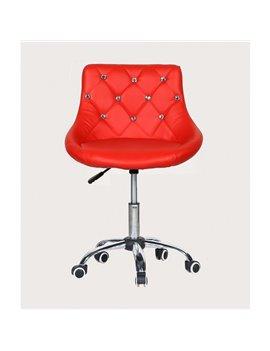 Kozmetická stolička Elegance Red