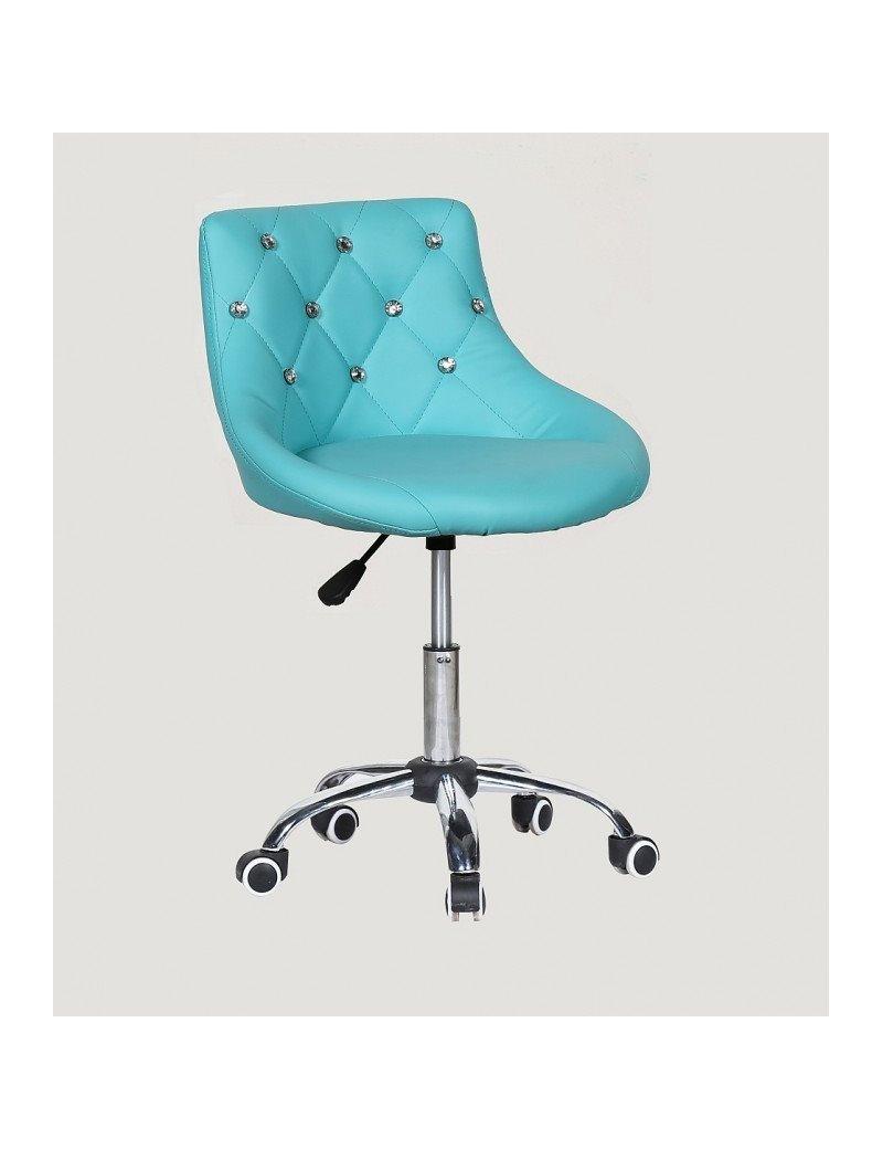 Kozmetická stolička Elegance Blue
