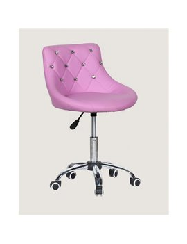 Kozmetická stolička Elegance Fiolet