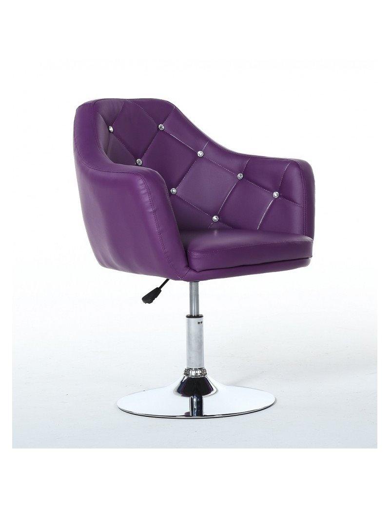 Kreslo Prestige Dark Violet