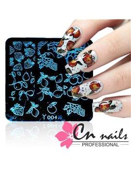 Doštička na pečiatkovanie CN nails